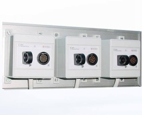 Hyperbaric remote panels